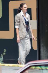 "Gal Gadot and Chris Pine - ""Wonder Woman 1984"" Set in Georgetown 06/13/2018"