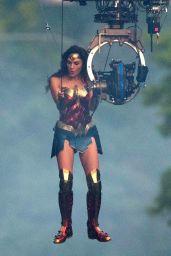 "Gal Gadot - ""Wonder Woman 1984"" Set in Washington DC 06/18/2018"