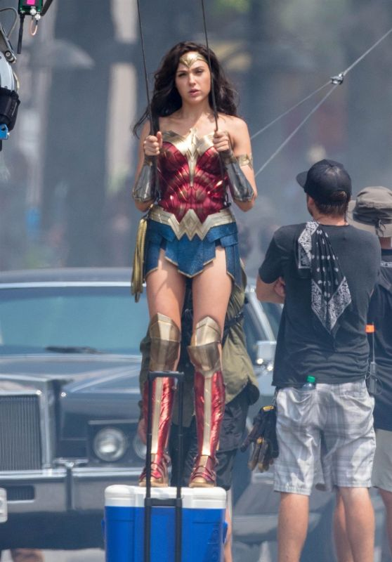Gal Gadot Quot Wonder Woman 1984 Quot Set In Washington Dc 06 18