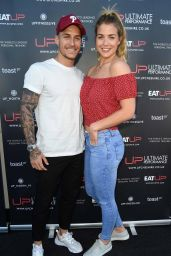 Gemma Atkinson - Launch of the Brand New U.P. Cheshire Gym in Alderley