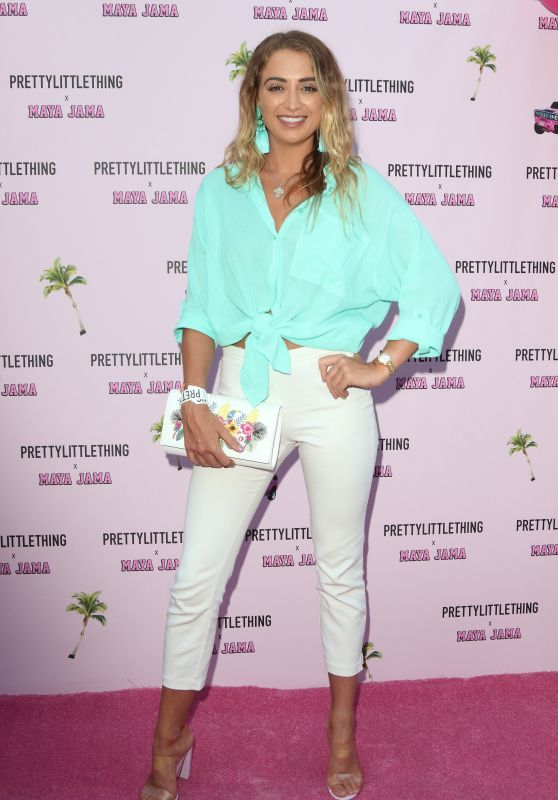 Georgia Harrison – Prettylittlething x Maya Jama Launch Party in London
