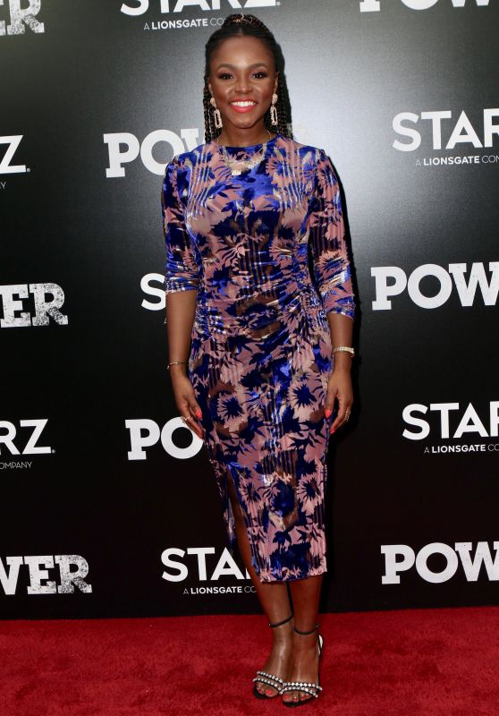 "Gia Peppers – ""Power"" TV Show Premiere in NY"