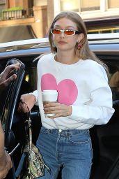 Gigi Hadid Casual Style - New York City 06/19/2018