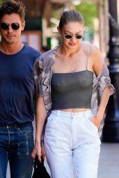 Gigi Hadid - Hot Summer Day in New York City 06/17/2018