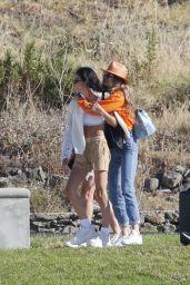 Gigi Hadid - Lands in Mykonos 06/29/2018