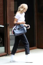 Gigi Hadid - Leaves a Studio in Tribeca in NYC 06/27/2018