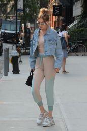Gigi Hadid - Leaving Her Apartment in New York City 06/18/2018