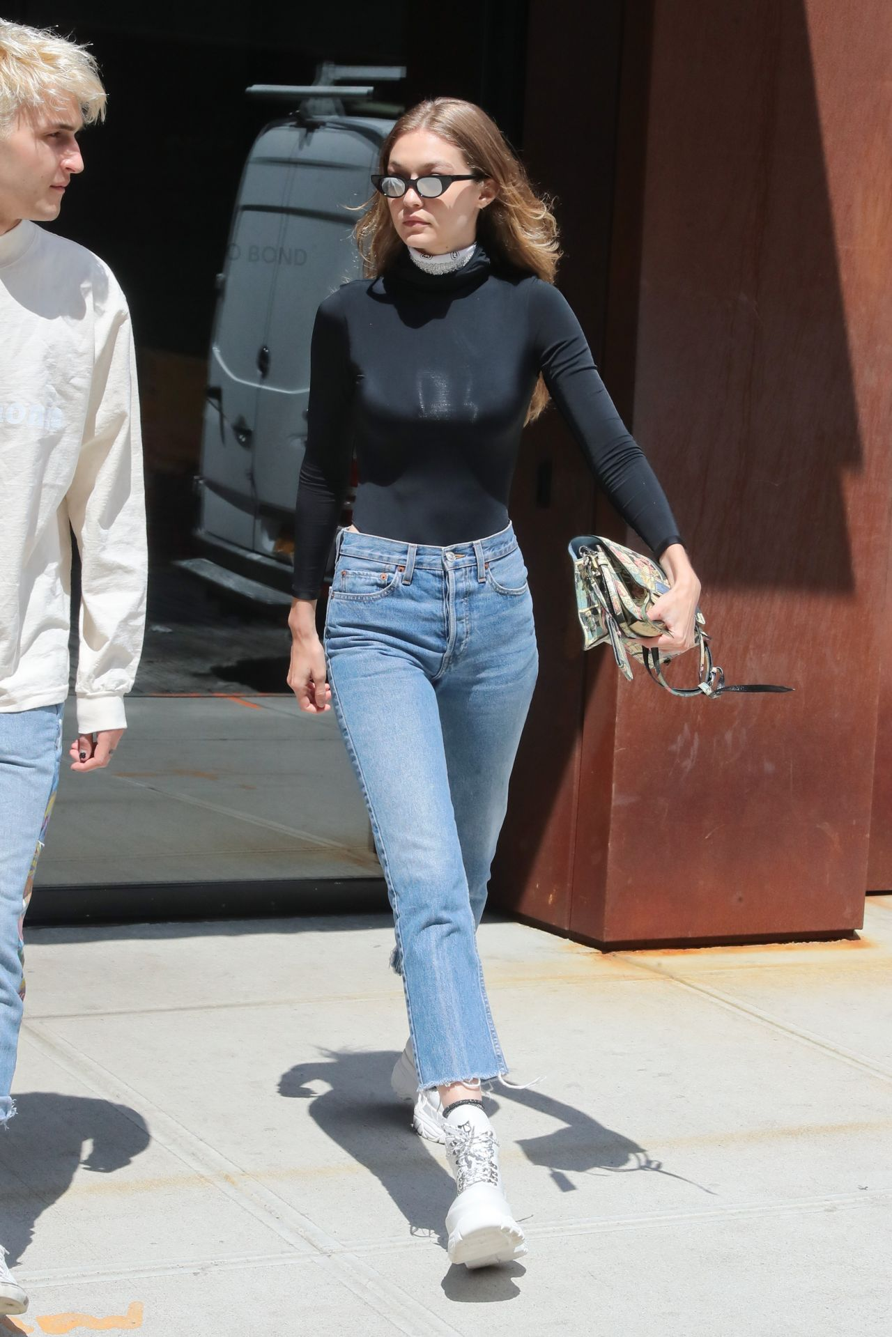 Gigi Hadid Street Style Out In New York 06 04 2018