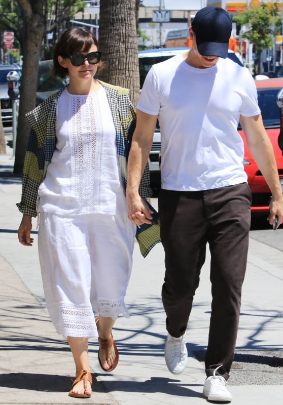 Ginnifer Goodwin and Josh Dallas - Strolls in LA 06/27/2018