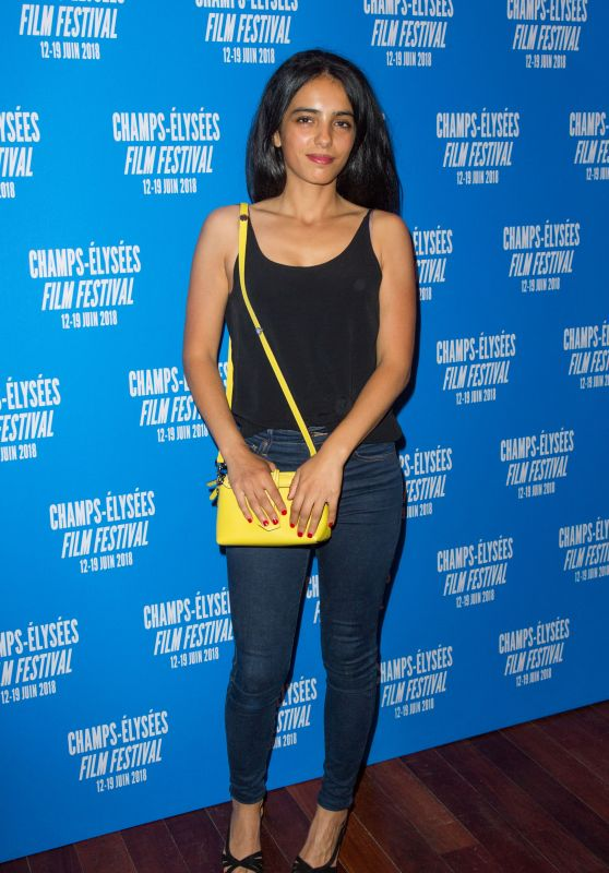 Hafsia Herzi – 2018 Champs-Élysées Film Festival Closing Ceremony in Paris