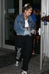 Hailey Baldwin and Justin Bieber - Movie Date in Miami 06/11/2018