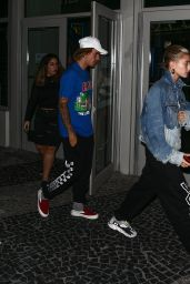 Hailey Baldwin and Justin Bieber - Movie Date in Miami 06/11/2018