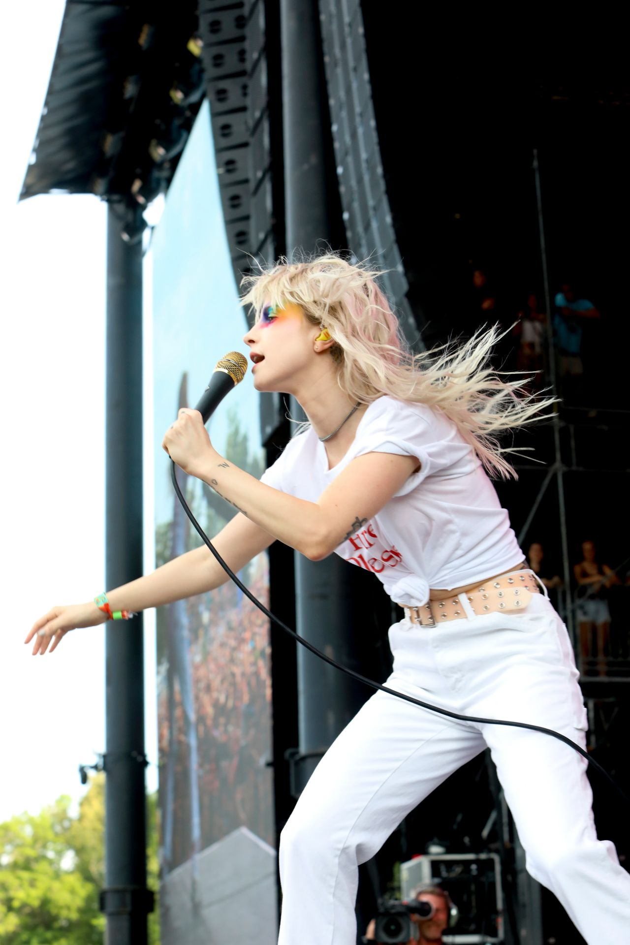 Hayley Williams - Performs at the Bonnaroo Music and Arts