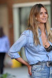 Heidi Klum in Tribeca in NYC 06/26/2018
