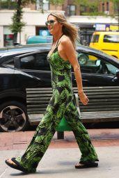 Heidi Klum - Leaves an Office Building in NYC 06/25/2018