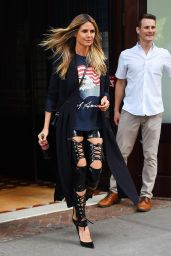 Heidi Klum - Out in New York City 06/26/2018