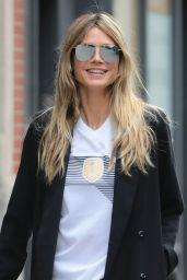 Heidi Klum Street Fashion - New York City 06/27/2018
