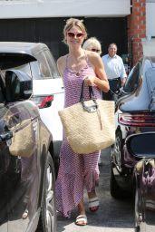 Heidi Klum - Visits a Hair Salon in Los Angeles 06/20/2018