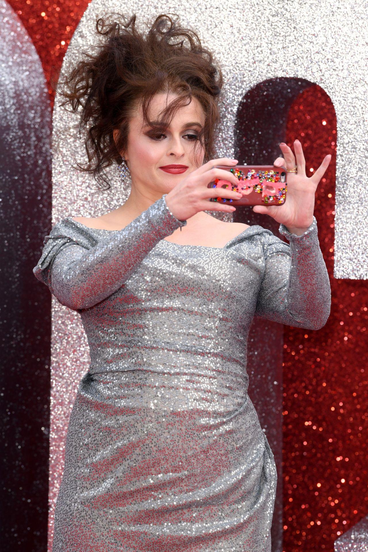 Helena Bonham Carter Oceans 8 Premiere In London