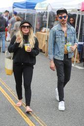 Hilary Duff and Matthew Komaat Farmers Market in LA 06/24/2018
