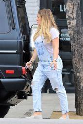 Hilary Duff - Leaves Fitbox in LA 06/15/2018