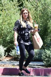 Hilary Duff - Out in Studio City 06/10/2018