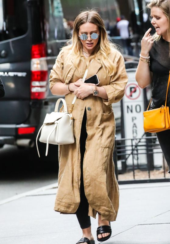 Hilary Duff - Times Square in NYC 06/07/2018