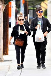 Hilary Duff With Partner Matthew Koma in Los Angeles 06/17/2018