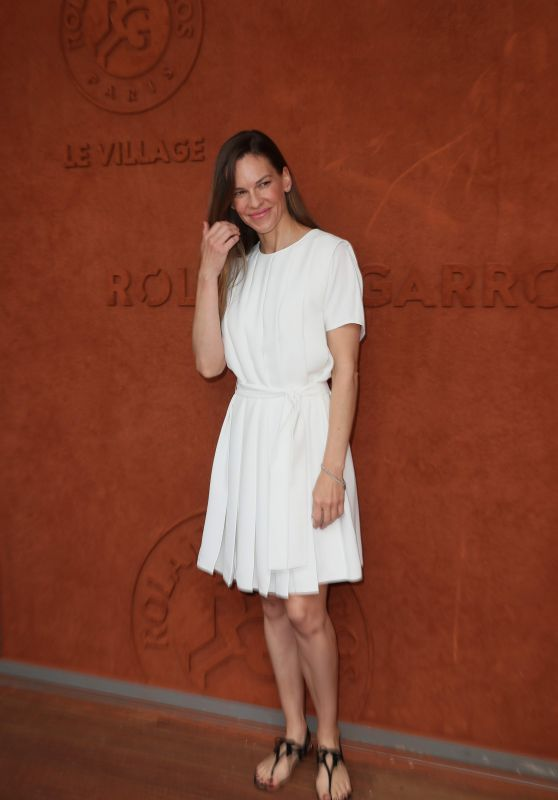 Hilary Swank - 2018 French Open at Roland Garros in Paris 06/09/2018