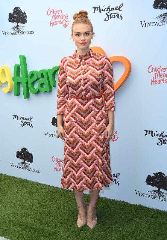 Holland Roden - Children Mending Hearts Empathy Rocks Fundraiser in LA