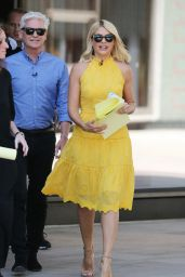 Holly Willoughby - ITV Studios in London 06/25/2018