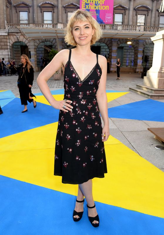 Imogen Poots – Royal Academy of Arts Summer Exhibition Preview Party in London 06/06/2018