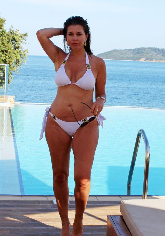 Imogen Thomas in Bikini - Poolside in Skiathos 06/01/2018