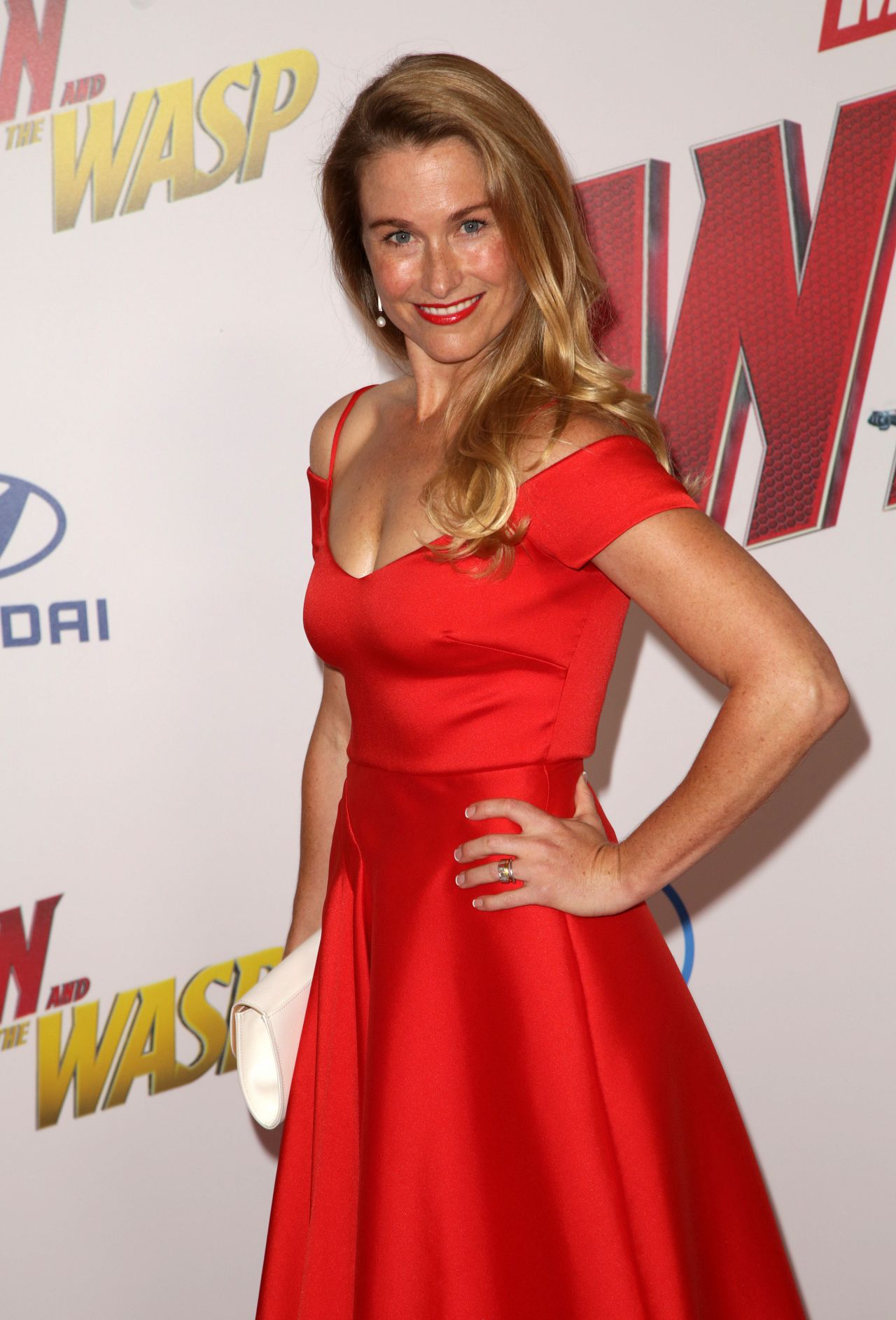 Ingrid Kleinig Ant Man And The Wasp Premiere In La