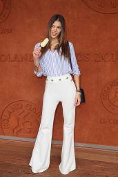 Iris Mittenaere – 2018 French Open at Roland Garros in Paris 06/10/2018