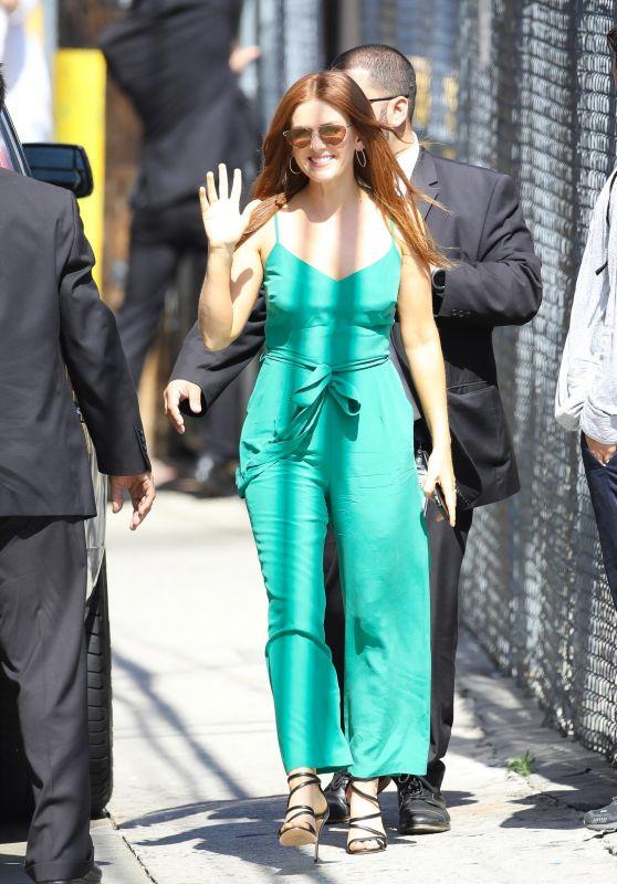 Isla Fisher - Arrive to Appear on Jimmy Kimmel Live 06/06/2018