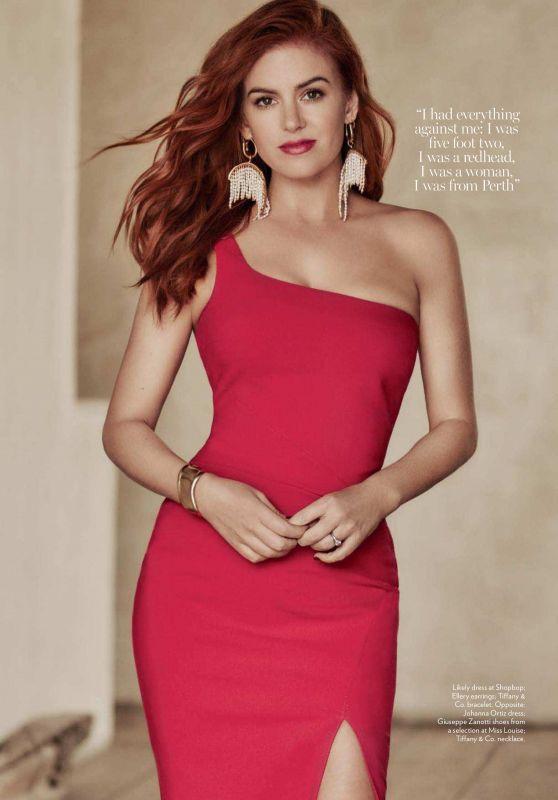 Isla Fisher - Marie Claire Magazine (Australia) July 2018