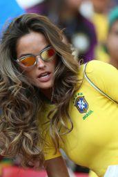 Izabel Goulart - Serbia vs Brazil in Moscow 06/27/2018