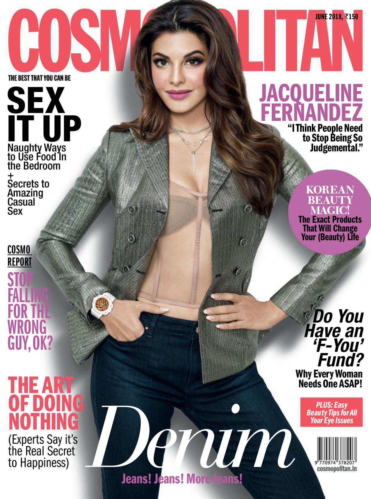 Jacqueline Fernandez Cosmopolitan India June 2018