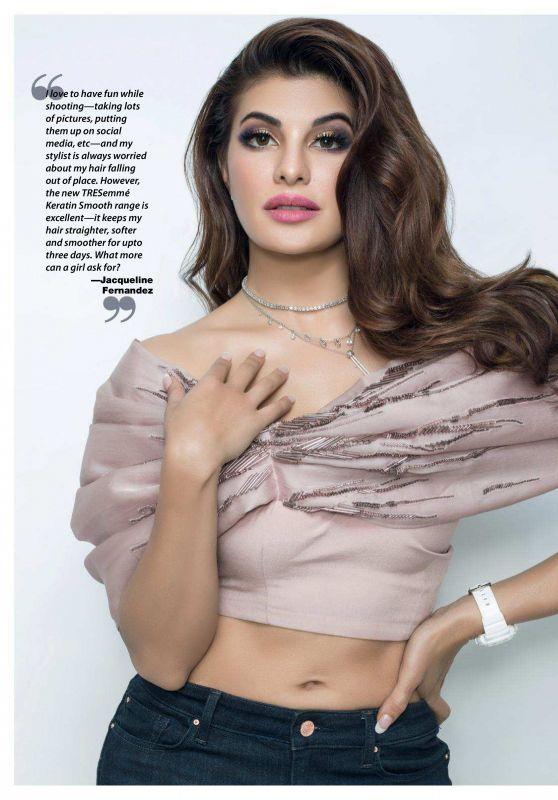 Jacqueline Fernandez - Cosmopolitan India June 2018