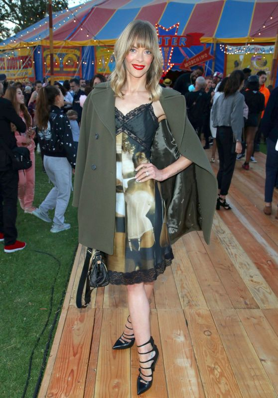 Jaime King – Moschino S/S 2019 Menswear And Women's Resort Collection in Burbank