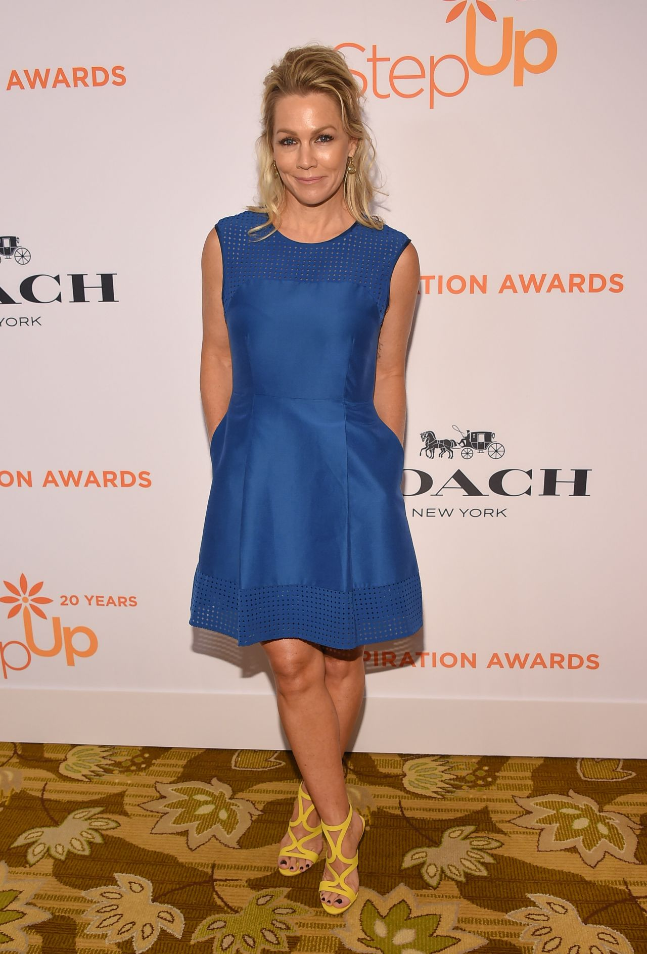 Jennie Garth Step Up S Inspiration Awards In Beverly