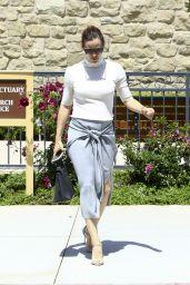 Jennifer Garner at Church Service in Pacific Palisades 06/10/2018