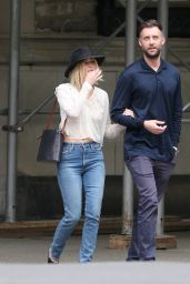 Jennifer Lawrence and Cooke Maroney in New York City 06/21/2018