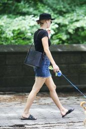 Jennifer Lawrence - Walking Her Dog in NYC 06/25/2018