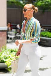 Jennifer Lopez and Alex Rodriguez - Leaving the Casa Lever in NYC 06/29/2018
