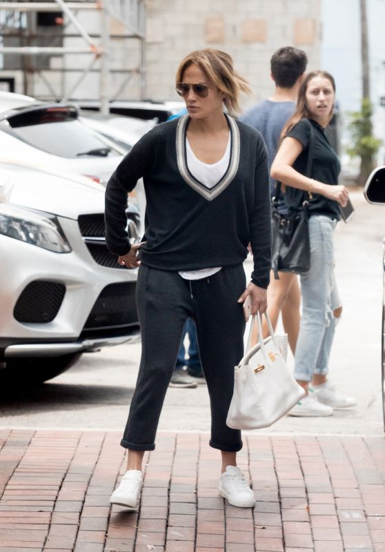Jennifer Lopez Casual Style - Miami 06/12/2018