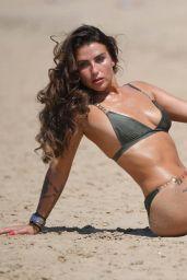 Jenny Thompson in Bikini on a Beach in England 06/27/2018