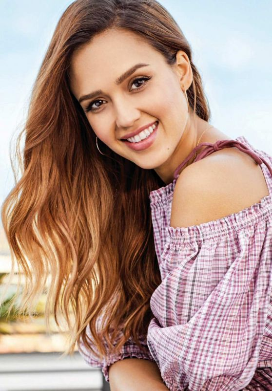 Jessica Alba - Good Housekeeping South Africa July 2018 Issue