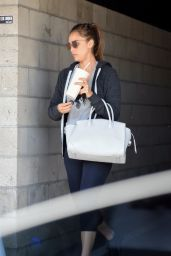 Jessica Alba in Workout Gear - Los Angeles 06/20/2018